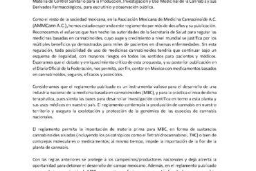 Piden médicos estándares altos en medicina cannabinoide mexicana